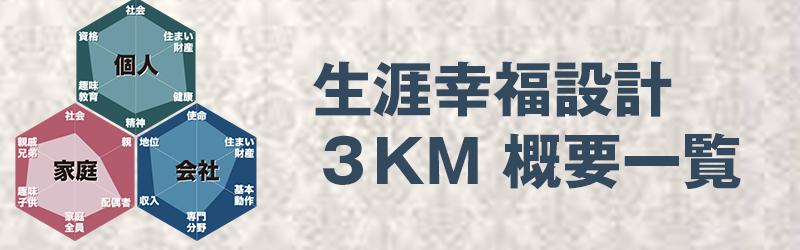 3KM概要一覧